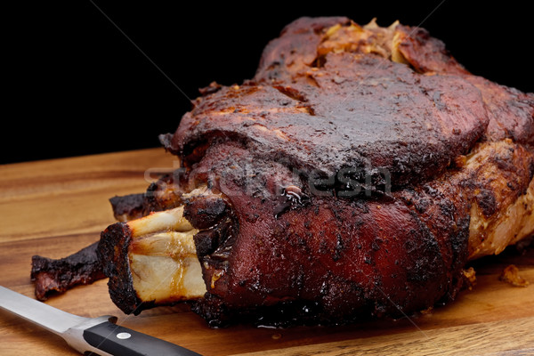 Roasted Pork Shoulder Stock photo © raptorcaptor