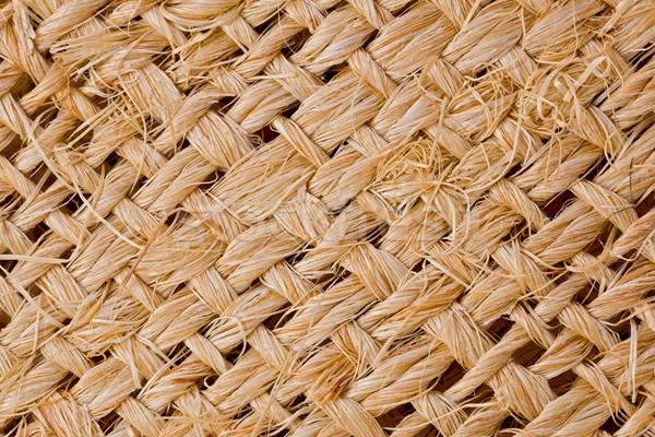 Doku çuval bezi arka plan kumaş Stok fotoğraf © raptorcaptor