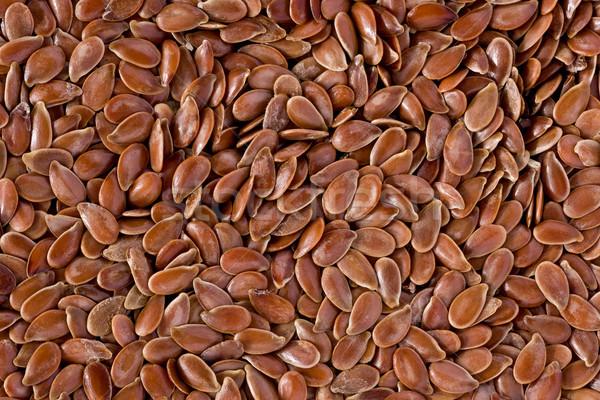 Semillas textura marrón fondo dieta saludable Foto stock © raptorcaptor