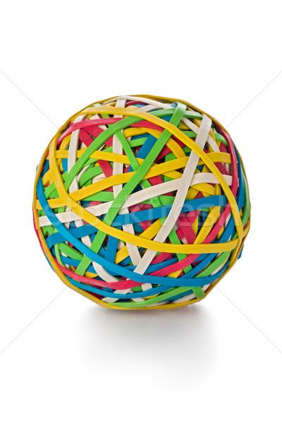 Stock photo: Rubber band Ball