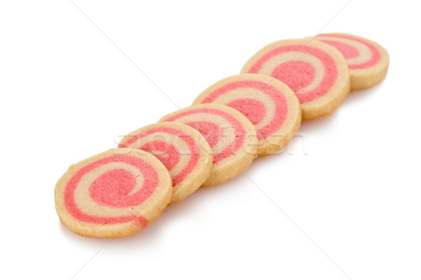 Peppermint Pinwheel Cookies Stock photo © raptorcaptor