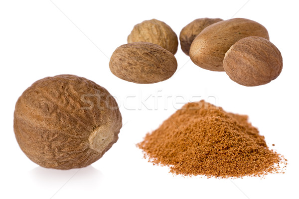 Nutmeg (Myristica fragrans) Stock photo © raptorcaptor