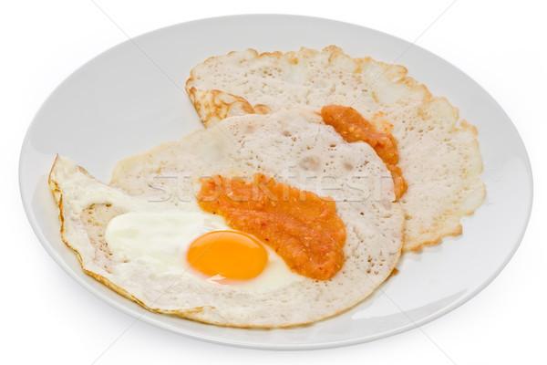 Huevo coco arroz harina picante Foto stock © raptorcaptor