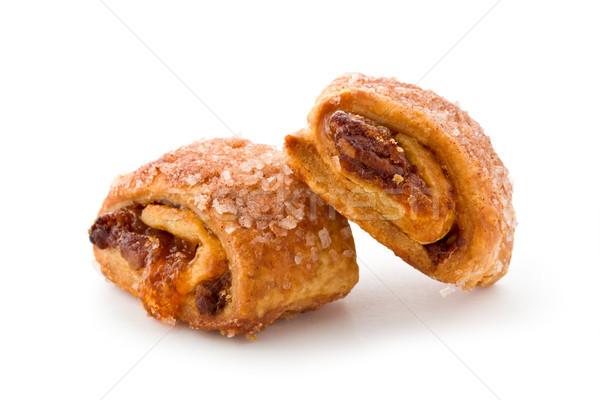Twee dessert suiker cookie snack Stockfoto © raptorcaptor