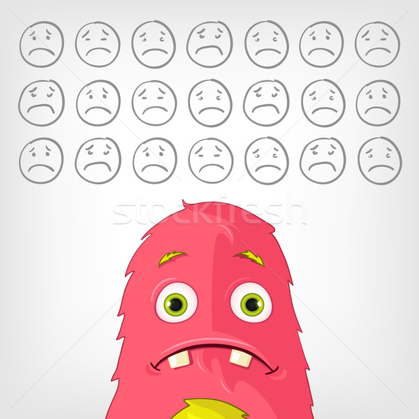 Funny Monster. Stock photo © RAStudio