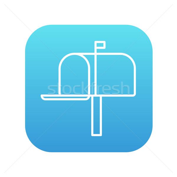 メールボックス 行 アイコン ウェブ 携帯 インフォグラフィック ストックフォト © RAStudio