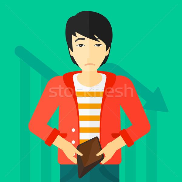 Bancrupt business man. Stock photo © RAStudio