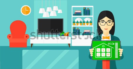Smart home automation vector illustration. Stock photo © RAStudio