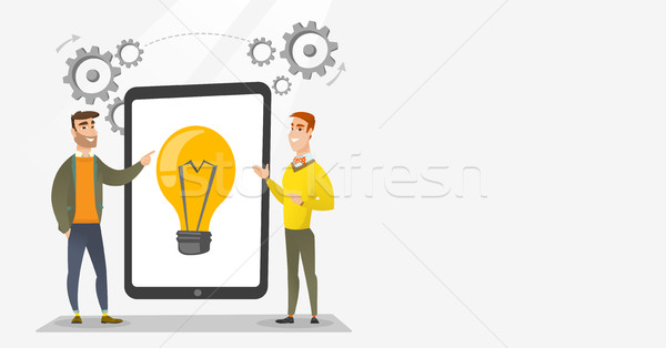 Creative business team brainstorming. Stock photo © RAStudio
