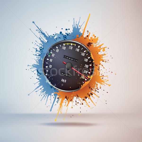 Speedometer Stock photo © RAStudio
