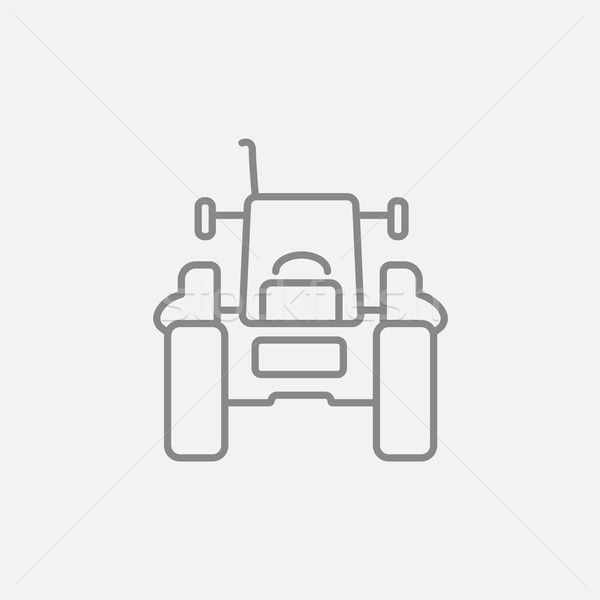 トラクター 行 アイコン ウェブ 携帯 インフォグラフィック ストックフォト © RAStudio