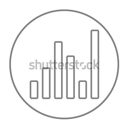 Foto stock: Equalizador · linha · ícone · teia · móvel · infográficos