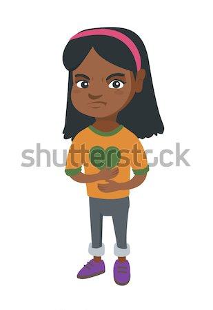 アフリカ 少女 水族館 金魚 ストックフォト © RAStudio