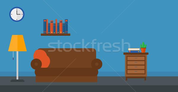 Background of furnished room Stock photo © RAStudio