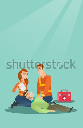 Two medical banners with space for text. Stock photo © RAStudio