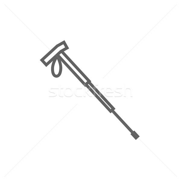 походов полюс линия икона уголки веб Сток-фото © RAStudio