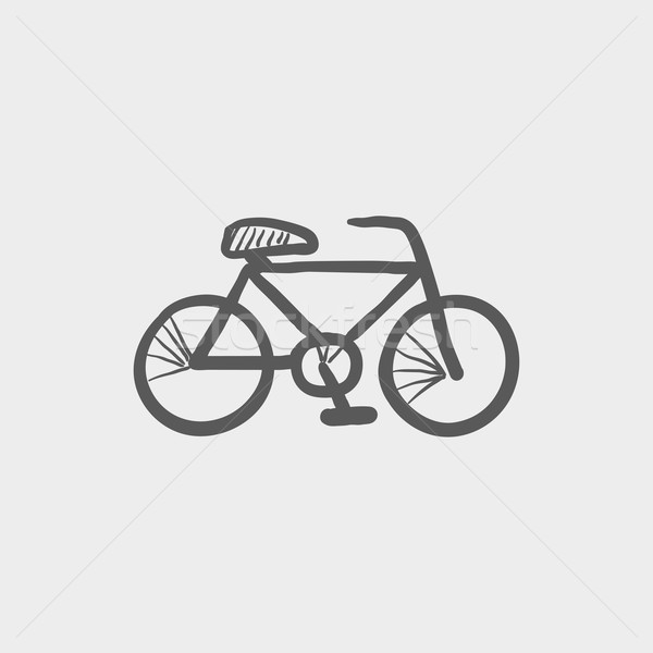 Bicycle sketch icon Stock photo © RAStudio