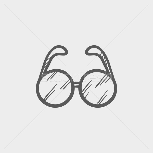 Eyeglasses sketch icon Stock photo © RAStudio