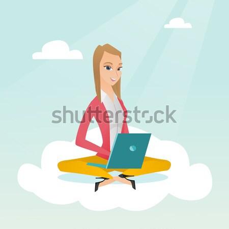 Сток-фото: женщину · технологий · молодые · азиатских · деловая · женщина