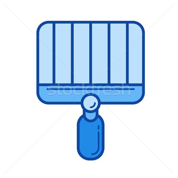 Grill line icon. Stock photo © RAStudio