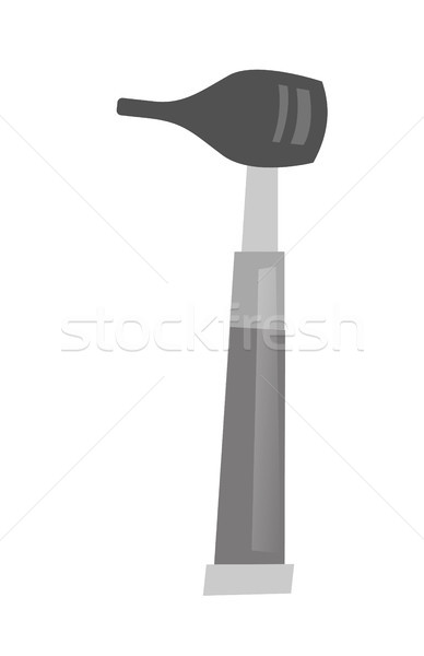 Otoscope vector cartoon illustration. Stock photo © RAStudio