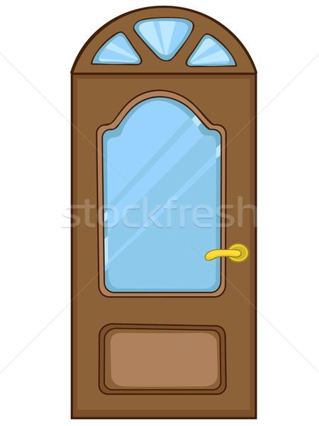 Cartoon Home Door Stock photo © RAStudio