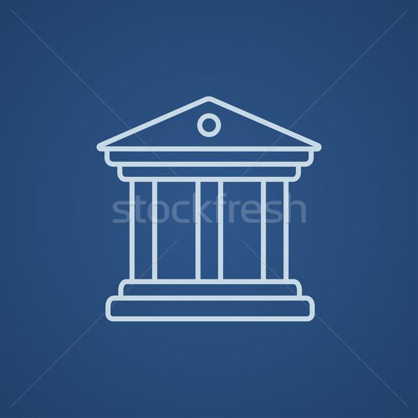 Museum line icon. Stock photo © RAStudio