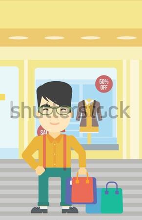 Man with three D printer. Stock photo © RAStudio