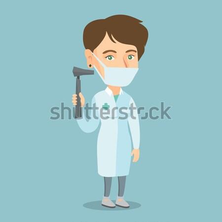 Ouvido nariz garganta médico médico Foto stock © RAStudio