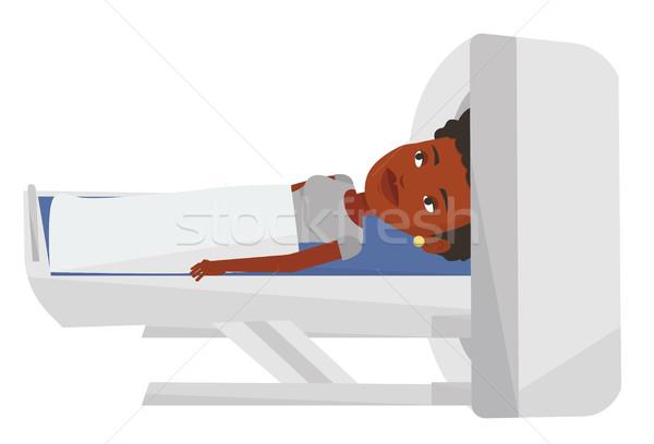 Magnetic resonance imaging vector illustration. Stock photo © RAStudio