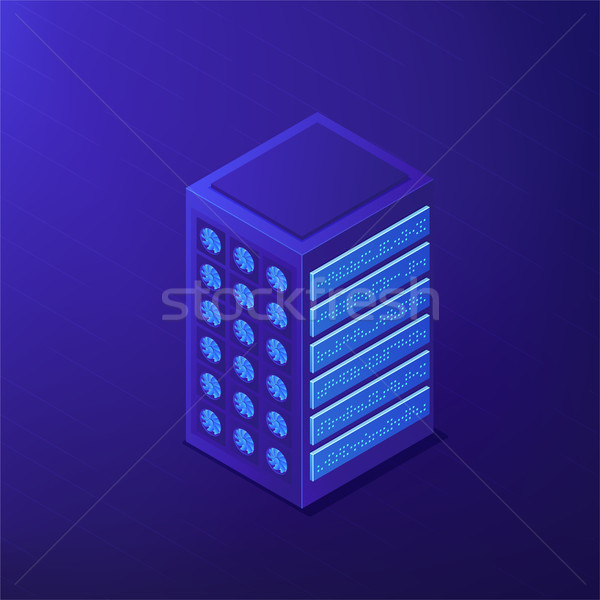 Isometric proxy server and IP concept. Stock photo © RAStudio