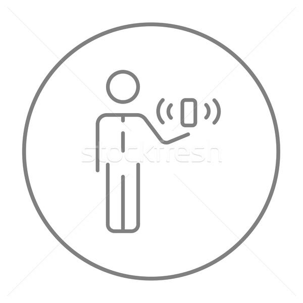 モビリティ 行 アイコン ウェブ 携帯 インフォグラフィック ストックフォト © RAStudio