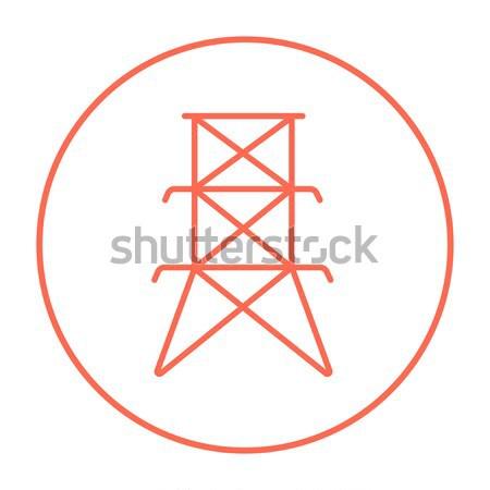 Gemstones line icon. Stock photo © RAStudio
