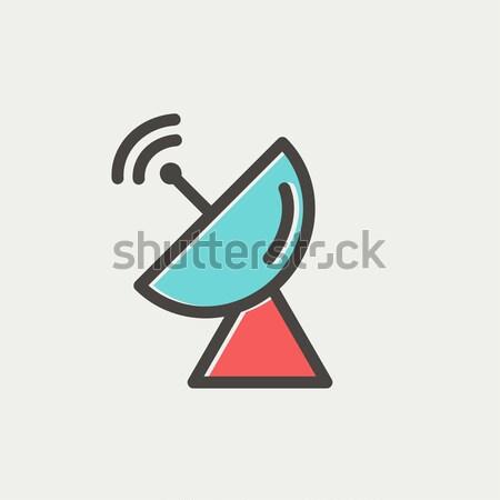 レーダー 行 アイコン コーナー ウェブ ストックフォト © RAStudio
