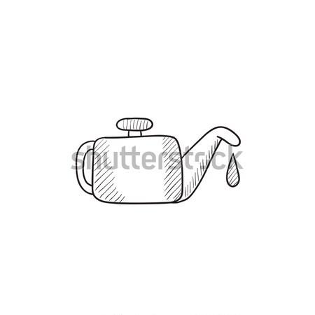 スケッチ アイコン ベクトル 孤立した 手描き インフォグラフィック ストックフォト © RAStudio