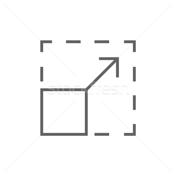 Scalability line icon. Stock photo © RAStudio