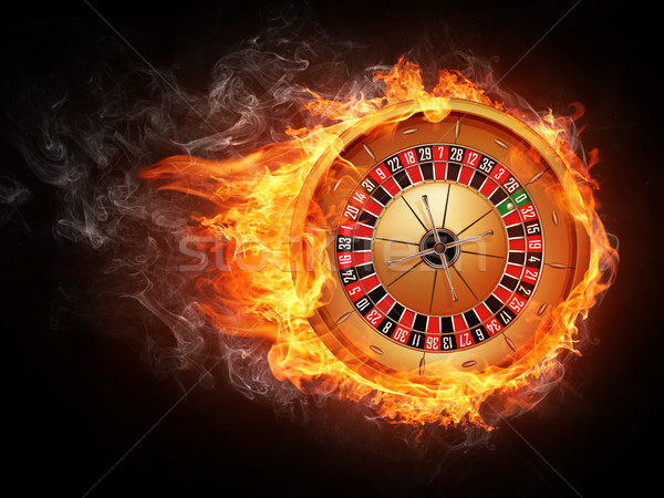 Casino ruleta aislado blanco vector eps8 Foto stock © RAStudio