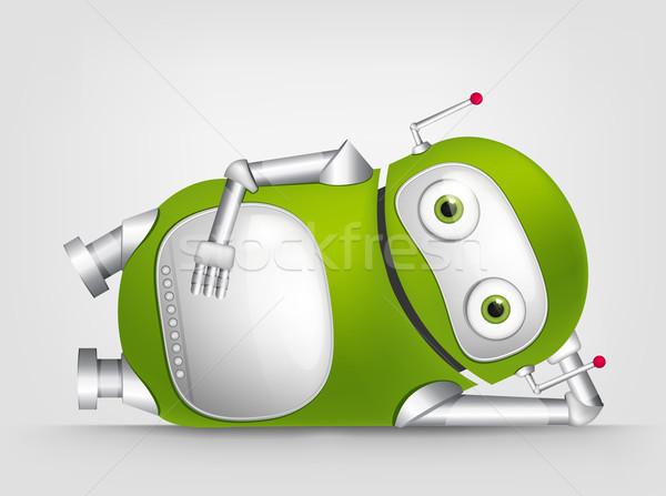 Stock photo: Cute Robot