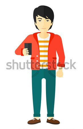 Man making selfie. Stock photo © RAStudio