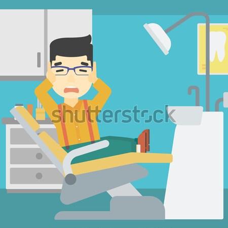 Man travelling by bus vector illustration. Stock photo © RAStudio