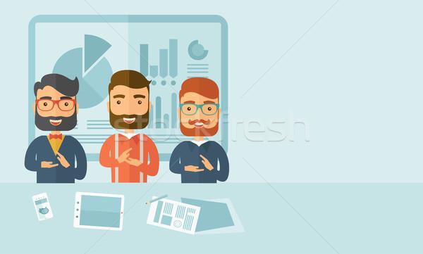 Business presentation Stock photo © RAStudio