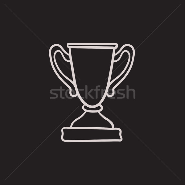 Trophy sketch icon. Stock photo © RAStudio