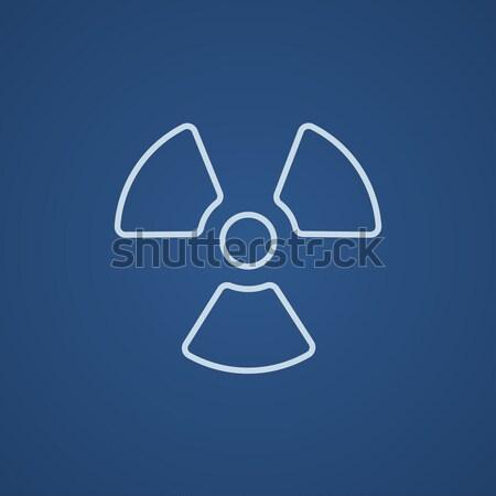 放射線 にログイン 行 アイコン ウェブ 携帯 ストックフォト © RAStudio