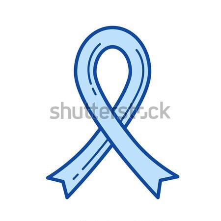 Ayudas cinta línea icono vector aislado Foto stock © RAStudio