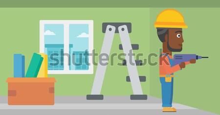 Constructor with perforator. Stock photo © RAStudio