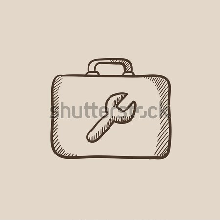 Toolbox sketch icon. Stock photo © RAStudio