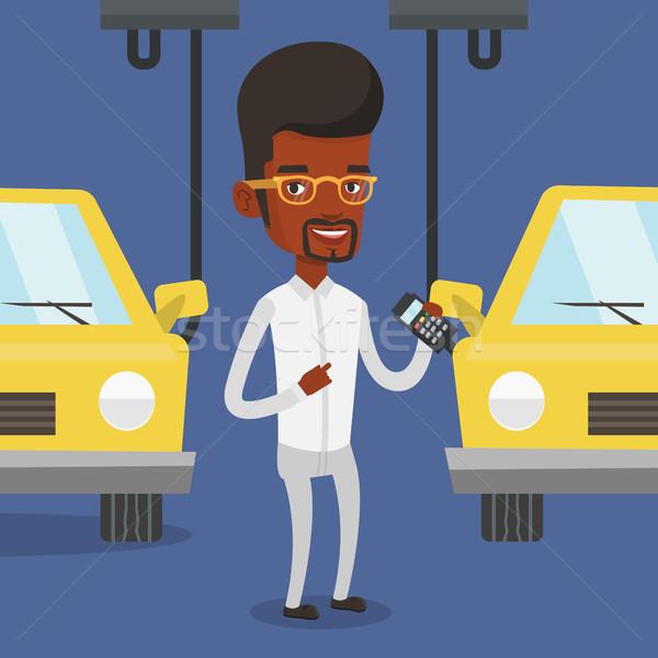 Stockfoto: Werknemer · auto · fabriek · ingenieur · werk