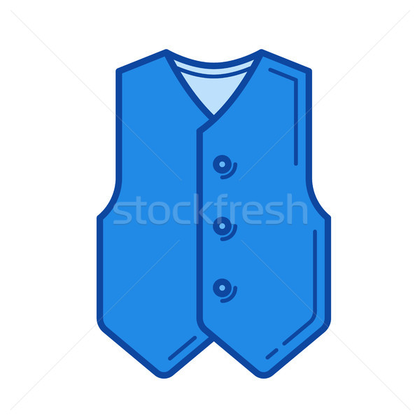 Vest line icon. Stock photo © RAStudio