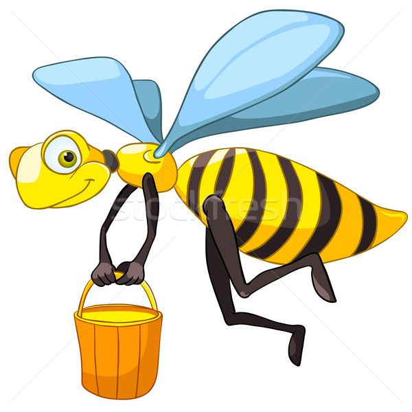 Cartoon Character Bee Stock photo © RAStudio