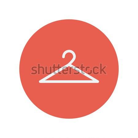 Hanger thin line icon Stock photo © RAStudio